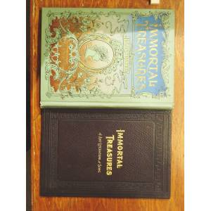 Immortal Treasures of Choice Literature, Master Works of Art and Superb Songs T. DeWitt Talmage [Very Good] [Hardcover]
