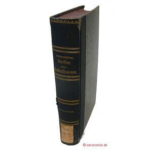 Schriften über Auskunftswesen. Sammelband. Schimmelpfeng, W(ilhelm) [ ] [Hardcover]