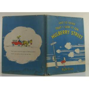 And To Think That I Saw It On Mulberry Street Seuss, Dr [Very Good] [Hardcover]