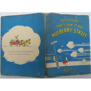 And to Think that I Saw it on Mulberry Street Seuss, Dr., LeSieg, Theo [Very Good] [Hardcover]