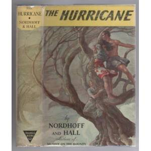 The Hurricane by Nordhoff and Hall (Reissue 1938) Nordhoff and Hall [Very Good] [Hardcover]