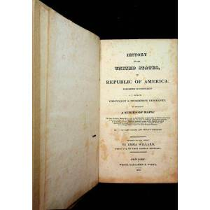 United History of the United States, or Republic of America : Exhibited in connexion with its Chronology & progressive geography; by means of a series of ma