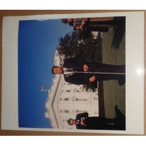 1962 President John Kennedy Original Photo: We have long way to go in space race John F. Kennedy [Very Good]