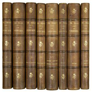 Le Verger, ou histoire, culture, et description avec planches coloriées des variétés des fruit le plus généralement connues. MAS, S.A. [ ] [Hardcover