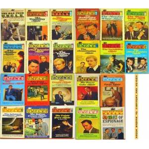 The Man From U. N. C. L. E. [UNCLE] 22 Volume Collection (Includes #1, #2, #3, #4, #5, #6, #7, #8, #9, #10, #11, #12, #13, #14, #15, #16, #17, #18, #