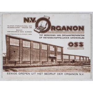 N.V. Organon tot bereiding van orgaanpreparaten op wetenschappelijken grondslag N.V. Organon [Very Good] [Softcover]