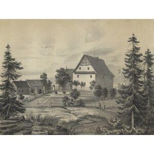"""Röttis (Plauen), Rittergut, Poenicke, Röttis (Plauen). - Rittergut. - Poenicke. - """"Röttis"""".   [ ]"""