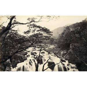 United Kingdom Buttermere & Swallow Falls Betws-y-Coed 2 Old Photos Frith 1870 Francis FRITH [ ]