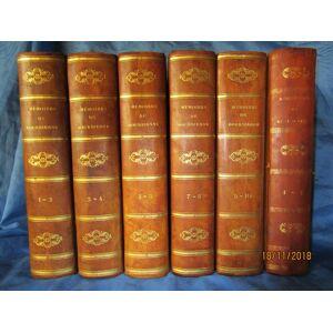 MÈMOIRES de M. BOURRIENNE , Ministre d'Etat sur NAPOLÈON , le DIRECTOIRE , le CONSULAT , l'EMPIRE et la RESTAURATION - 1829 - EDTION ORIGINALE - 10 T