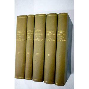 Derecho civil vigente en Cataluña Borrell i Soler, Antoni M. [ ] [Hardcover]
