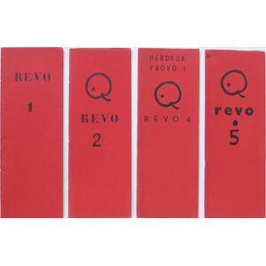 Revo. Nos 1 , 2 , 4 , 5. [le numéro 3 n est pas paru]. Collection complète.   [Fine] [Softcover]