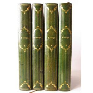 Goethe's poetische und prosaische werke in zwei banden. [Oeuvres complètes] GOETHE Johann Wolfgang von [ ] [Hardcover]