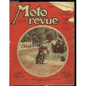 MOTO REVUE N° 955 - Carters pompes, Le feuilleton du débutant - réglages et jeux, Un moteur ultra moderne : Le sunbeam bicylindre S7, Le sidecar, Mot