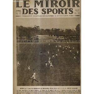 LE MIROIR DES SPORTS - N° 341 - 26 octobre 1926 / Hutin va marquer le troisième essai pour le C.A.S.G. contre Lourdes / motos, cyclecars et autos dan