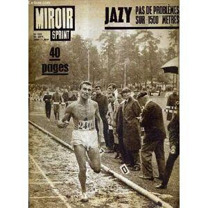 MIROIR SPRINT - N° 955 - 21 septembre 1964 / Jazy, pas de problèmes sur 1500 mètres / Jazy victime de la TV / Nations : un boucquet pour Walter / pou