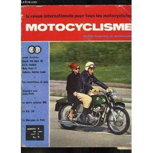 Motocyclisme, la revue internationale pour tous les motocyclistes N°4, 1ère année : Impressions de Conduite de la Ducati 350 Mark 3D, de la BSA Fireb