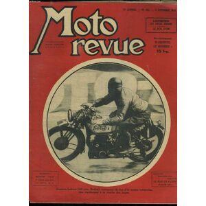 MOTO REVUE N° 901 3em ANNEE DU 3 OCTOBRE 1947. SOMMAIRE: L ENTRETIEN DU DEUS TEMPS , LE BOL D OR. LACOME CAMILLE. [Near Fine] [Softcover]