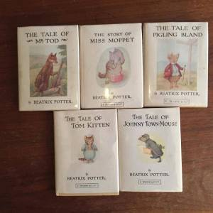 Tom Kitten,Mr. Todd, Pigling Bland, Miss Moppet, and Johnny Town-Mouse Potter, Beatrix [Very Good] [Hardcover]