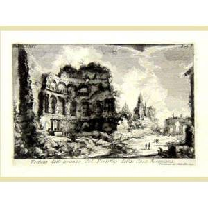 Dell Veduta dell'avanzo del Peristilo della casa Neroniana. PIRANESI GIAMBATTISTA [ ]