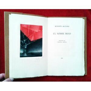 El sobre rojo. Roberto ALIFANO [Near Fine] [Softcover]