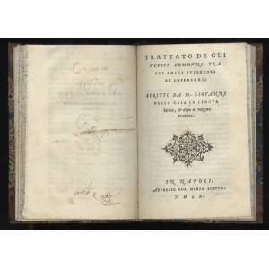 Rime, et prose di [.] Giovanni Della Casa con nuova aggiuntione, & con molta diligentia ristampate. In Napoli, Appresso Gio. Maria Scotto, 1560 [Lega