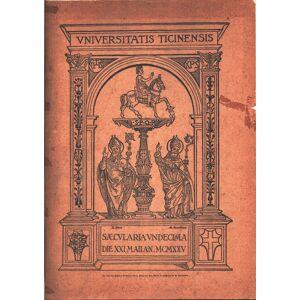 Dell Cenno storico dell'Università di Pavia   [ ] [Hardcover]