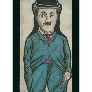 Charlie Chaplin Printed Cotton Template for Stuffed Doll Chaplin, Charlie [ ]