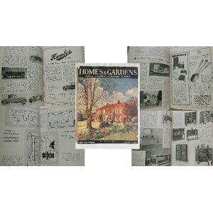 HOMES & GARDENS. Houses, Furniture, Equipment, Gardens. No 6, Vol 8, November 1926. AAVV [Very Good] [Softcover]