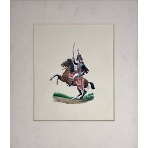 An Officer of the 10th (or The Prince of Wales's Own) Regiment of Hussars in Review Order, 1809 PLAYER Rodney [ ]