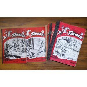Der Texaner. Vorliegend die komplette Folge der ersten Serie mit den Heften Nr. 1 - 19: Enthalten sind: 1) Das Erbe. 2) Von Banditen beherrscht. 3) G