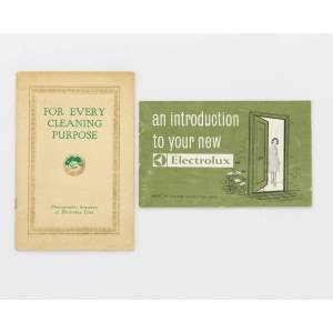 For Every Cleaning Purpose. Photographic Sequence of Electrolux Uses [cover title] [Trade Catalogue] [Very Good] [Softcover]
