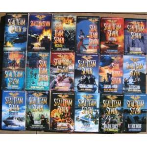 "Seal Team Seven: # 1, 2, 3, 4, 5, 6, 7, 8, 9, 10, 12, 13, 14, 15, 16, 17, 18, 20; (18 Volumes in the ""Seal Team Seven"" series) Douglass, Keith (a pse"