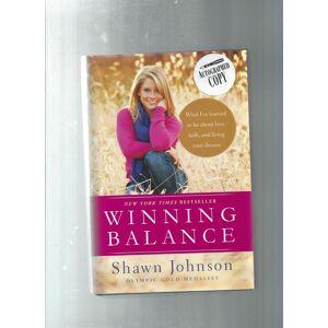 WINNING BALANCE Johnson, Shawn [As New] [Hardcover]