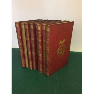 United THE HISTORY OF THE UNITED STATES OF AMERICA Continued to the Southern Secession - Two Volumes Bound in 8 Parts Mackay [Charles] [Good] [Hardcover]