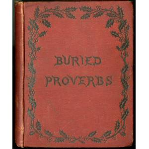 Buried Proverbs anon [Good] [Hardcover]