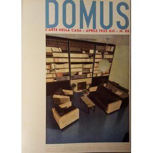 DOMUS. L'arte nella casa. Direttore Architetto Gio Ponti. Annata 1935. DOMUS - GIO PONTI [Very Good] [Hardcover]