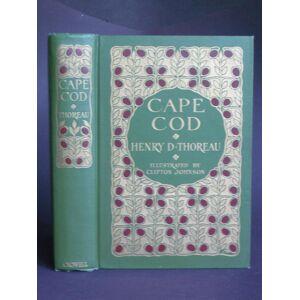 Cape Cod Thoreau, Henry D. [Very Good] [Hardcover]