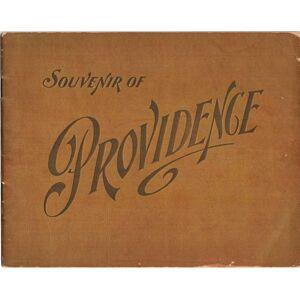 SOUVENIR OF PROVIDENCE Rhode Island, Providence [Very Good] [Softcover]