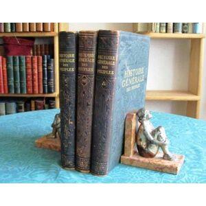 Histoire Générale des Peuples de l'Antiquité à nos jours. 3 volumes. PETIT Maxime [Near Fine] [Hardcover]