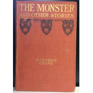 Monster Cable The Monster and other Stories Crane, Stephen [Very Good] [Hardcover]