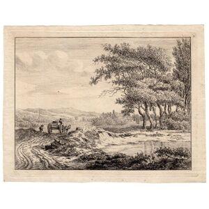 Bosch Landscape-Snaetburg-Maarssen Anthonie BOSCH, 1801   [Good]