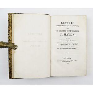 Lettres écrites de Vienne en Autriche, sur le célèbre compositeur Jh. Haydin, suivies d'une vie de Mozart et de considérations sur Métastase et l'éta