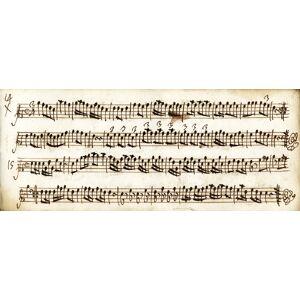Raccolta di 142 esercizi per strumento o canto (fine XVII secolo ? inizio XVIII) MUSICA -, Raccolta di esercizi. [ ] [Hardcover]