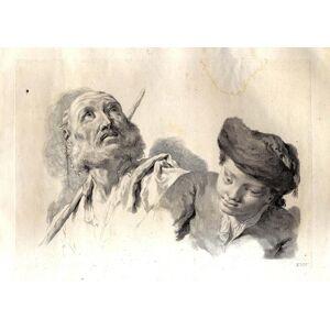 - PITTERI, Marco - BARTOLOZZI, Francesco. Studi di Pittura già dissegnati da Giambattista Piazzetta, ed ora con l'intagli di Marco Pitteri PIAZZETTA,