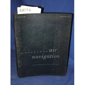 Air Navigation: AF Manual 51-40 Volume One Department of Air Force [Good] [Hardcover]