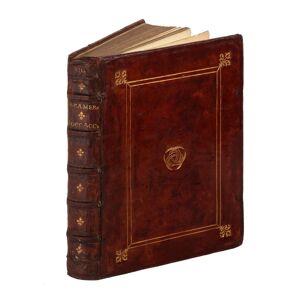 Il Decamerone. alla sua intera perfettione ridotto, et con dichiarationi et auuertimenti illustrato, per Girolamo Ruscelli. Boccaccio Giovanni [ ] [H