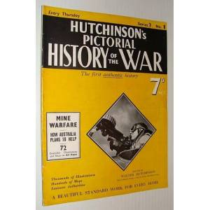 Hutchinson's Pictorial History of the War, Series 3, No. 1, December 20th - December 26th, 1939 Hutchinson, Walter: Editor [Good] [Softcover]