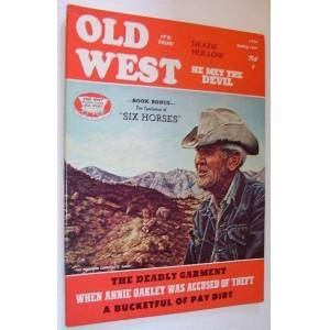Old West Magazine: Spring, 1977 Contributors, Multiple [Good] [Softcover]