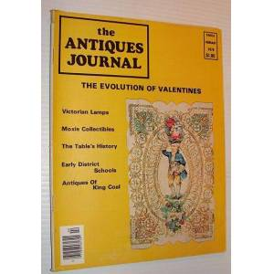 Antiques Journal Magazine, February 1976 Contributors, Multiple [Good] [Softcover]