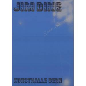 "JIM DINE Saw SIGNED 30.75"" x 22"" Lithograph 1971 Pop Art Blue Sky Dine, Jim [Fine]"